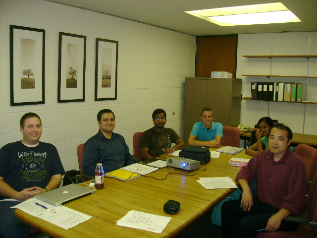 The MASL Research Group meets weekly on Wednesday afternoons to discuss ongoing research projects.